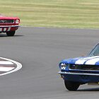 The Red car and the Blue car had a race! by Jon Clifton