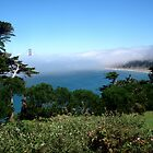 Baker Beach Fog by Tama Blough