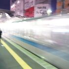 Tokyo Train Trail by ramie1