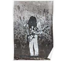 Amsterdam Graffiti Poster