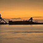 Wrecks at Tangalooma by GayeL Art