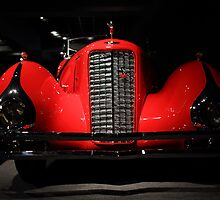 Red Cadillac by transportation