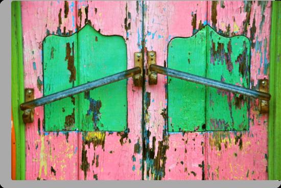 Pink & Green by Valerie Rosen
