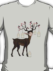 The Happy Springtime Deer! T-Shirt