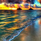 Lanikai Sunrise by Jessica Veltri