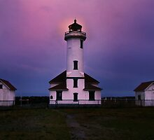 Point Wilson Lighthouse by Lynnette Peizer