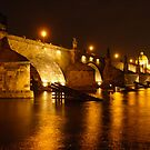 Charles Bridge, Prague, Czech Republic by Jo Blunn