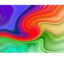 Ripples and Rainbows Photographic Print