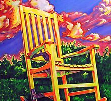 Rocking Chair in the Sun by muralman