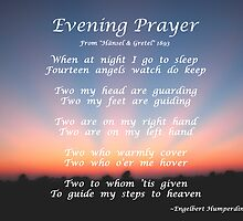 Hansel and Gretel's Evening Prayer by mnkreations