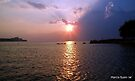 Lake Erie in all of her Glory by Marcia Rubin
