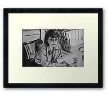 Carson McCullers Framed Print