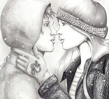 Eskimo Kiss by ninamarie