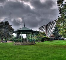 Green Bandstand by brianfuller75