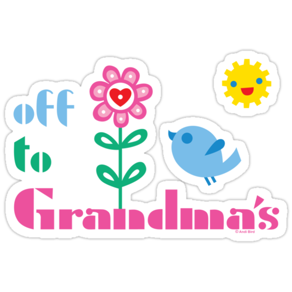 Off To Grandma's by Andi Bird
