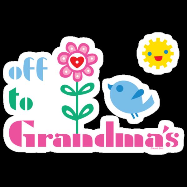 Off To Grandma's by Andi Bird