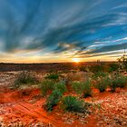 Outback skys by donnnnnny