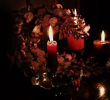 Wisteria and Candlelight by Evita