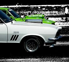 Drag Racing - Selective Colour Modified by Craig Stronner