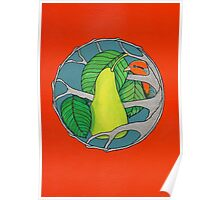 Partridge and Pear Tree Poster