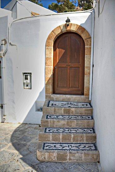 Mosaic Steps by Tom Gomez