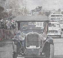 Veteran Car by geoffgrattan