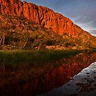 """Reflections"" Glen Helen Gorge - West Macdonnel Ranges-N.T. by Ohlordi"