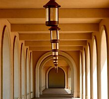 Arches and Lanterns by Virginia Kelser Jones