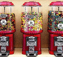 Gumball Machines by Wingsdomain Art and Photography