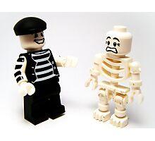 Mr.Mime & Skeleton Photographic Print