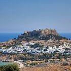 Lindos Acropolis by Tom Gomez