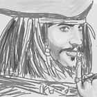Captain Jack Sparrow by ipodartist