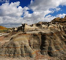 Landscape at Teddy Roosevelt National Park by JimGuy