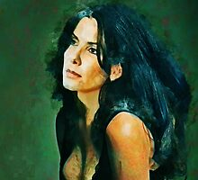 Sandra Bullock by Mothergoose19 D