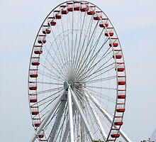 Ferris Wheel Fun by Jonathan  Green