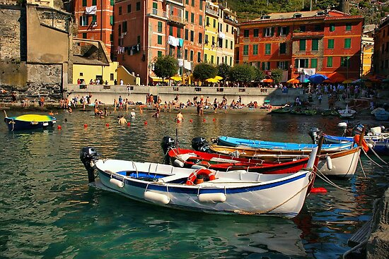 Vernazza by Barbara  Brown
