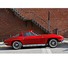 Red Vette Photographic Print