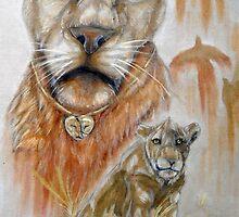 Tremble little lion by sierra-hope