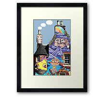 Kelburn Castle Graffiti Project - Fairlie Scotland Framed Print
