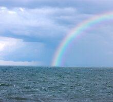 OCEAN STORM RAINBOW by imagetj