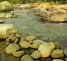 Pedernales Falls State Park Texas by mikeleblanc