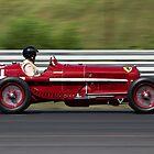 Vintage Alfa1931 Alfa Romeo Tipo B  by Brian Ach