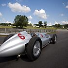1939 Mercedes-Benz W 154 Silver Arrow by Brian Ach