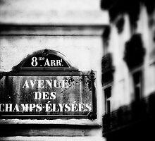 Avenue Des Champs Elysees by GIStudio