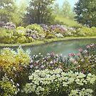 flowers and light by edisandu
