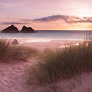 Holywell Bay by Adrian Hall