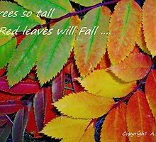 Fall Greetings by Ajoydesigns