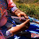 WOMAN FROM COLCA / AREQUIPA by Christine Kradolfer