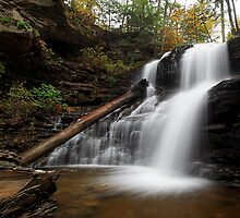 Shawnee Falls (Autumn) by Tim Devine