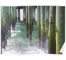 Old Orchard Beach, ME - Under the Pier Poster